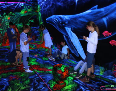 Fesselndes 3D NeonGolf in Hannover